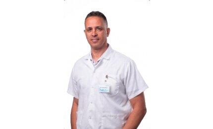 דר אחמד אבו אל יונס - מנהל רפואי של מרגוע